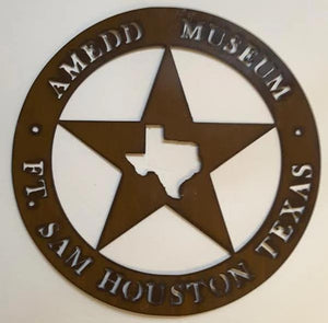 AMEDD MUSEUM METAL WALL PLAQUE