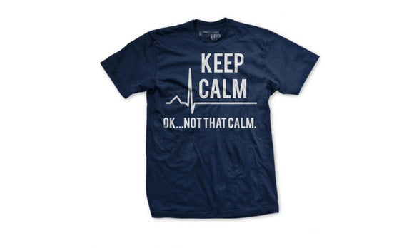Keep Calm Navy XXL : SKU : 1791
