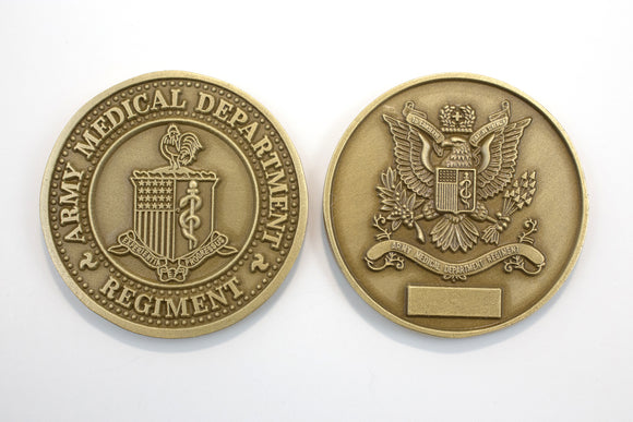 New Regimental Brass Coin : SKU : 179