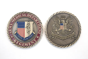 Regimental Color Coin 2 Sid : SKU : 181