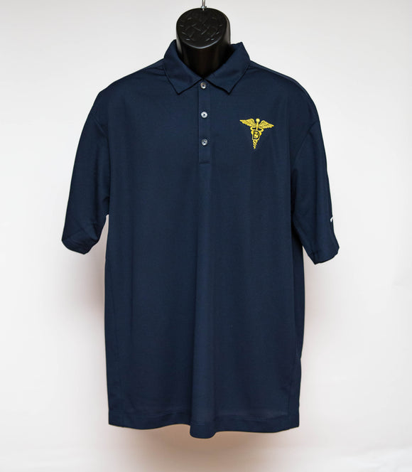 Navy Nike Polo Dental : SKU : 1908 - 1911
