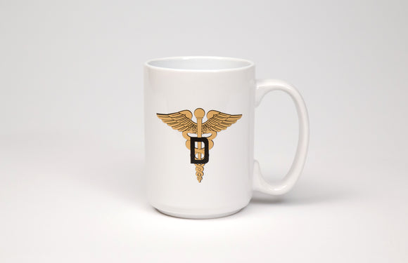 Army Dental Corps White Mug