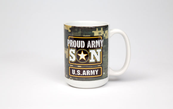 Army Logo Proud Son Mug