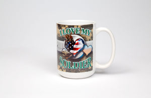 Mug  I Love My Soldier