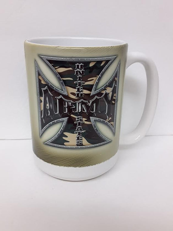 Mug  US Army Tribal