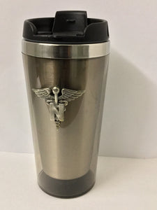 Pewter Travel Mug Army Nurse