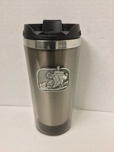 Pewter Travel Mug Combat Medic