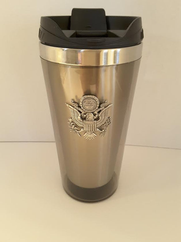 Pewter Travel Mug US Army