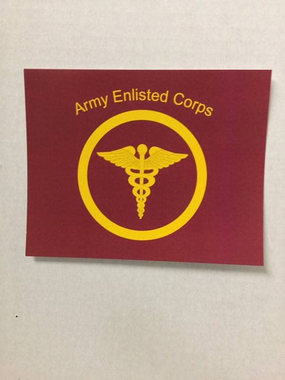 Enlisted Blank Cards