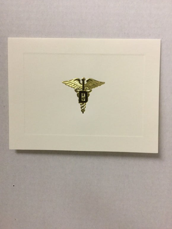Dental Corps Ivory Notecards