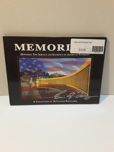 Memorial Postcards Pack
