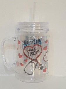 Nursing Mason Jar