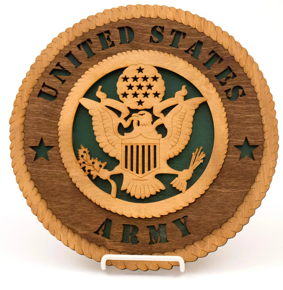 3D Wall Plaque Army