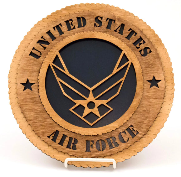 3D Wall Plaque Air Force