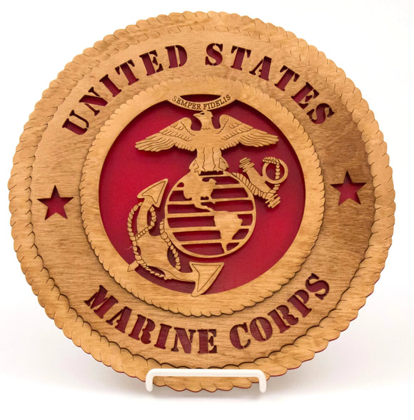 3D Wall Plaque Marines