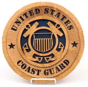 3D Wall Plaque Coast Guard