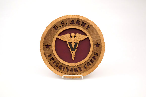 3D Wall Plaque Vet Corps : SKU : 741