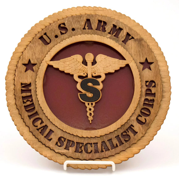 3D Wall Plaque Specialist Corps : SKU : 743