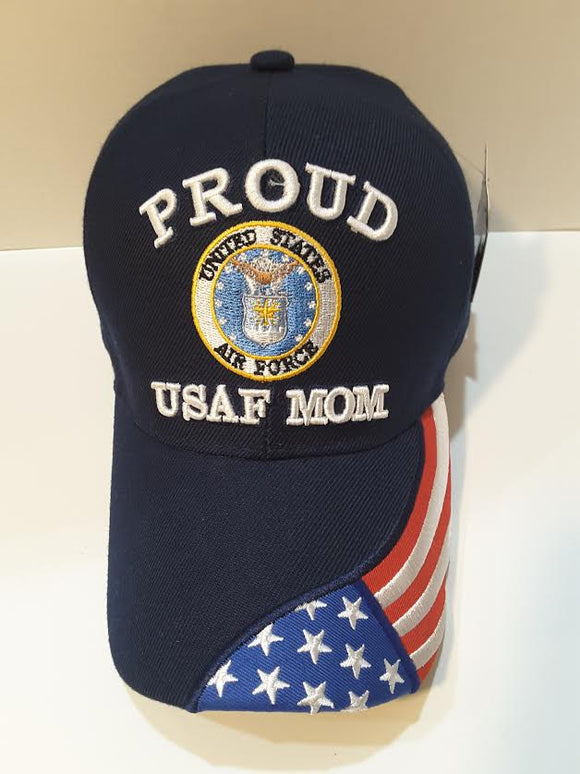 Proud Air Force Mom Hat
