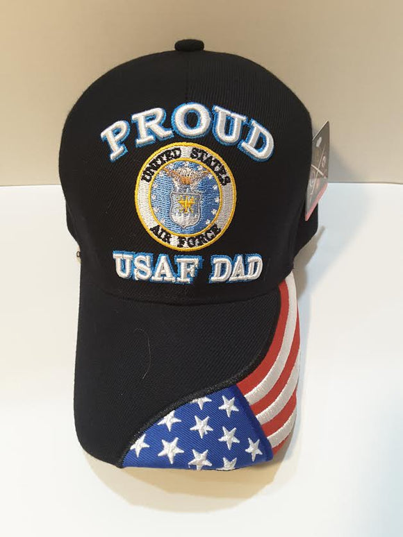 Proud Air Force Dad Hat