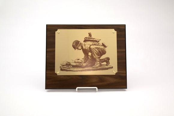 Combat Medic Brass Plaque : SKU : 873