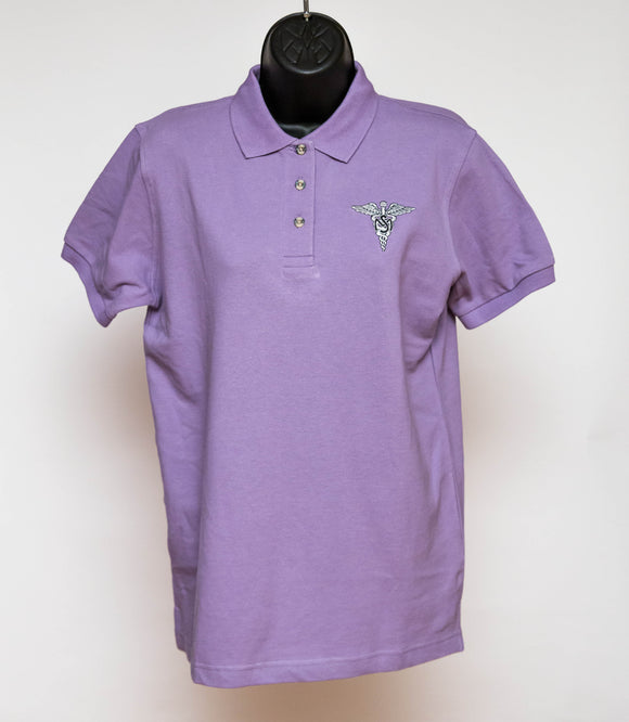 Womens Polo MSC Lilac XL : SKU : 1776