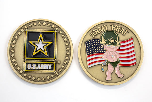 Army Brat Coin : SKU : 104
