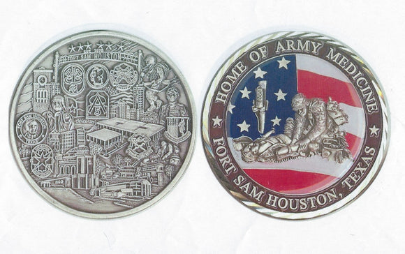Fort Sam Houston Coin : SKU : 105