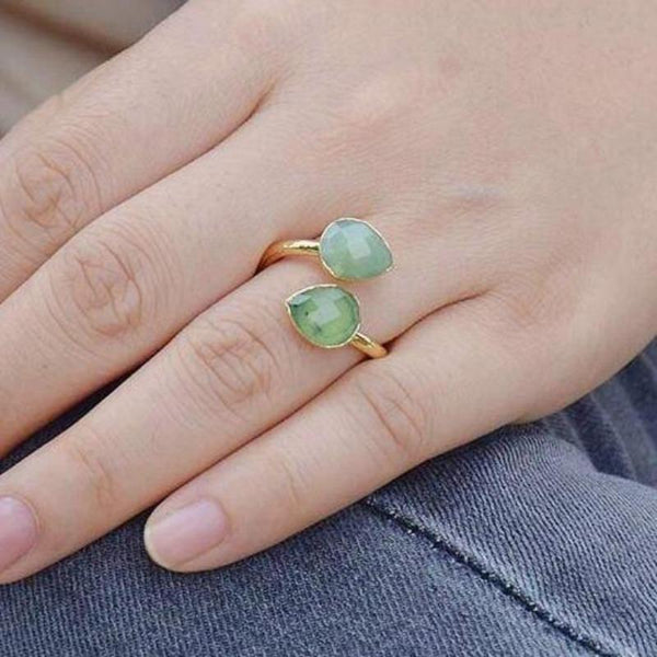 Catalina Natural Stone Ring - Ibiza Fit Girl