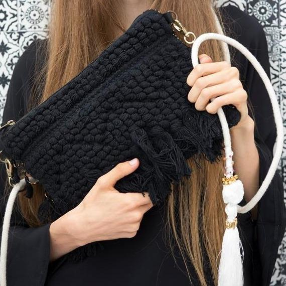 Maison Babou Clutch Black - Ibiza Fit Girl