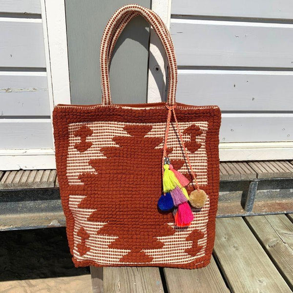 Maison Babou Tote Bag Brown - Ibiza Fit Girl