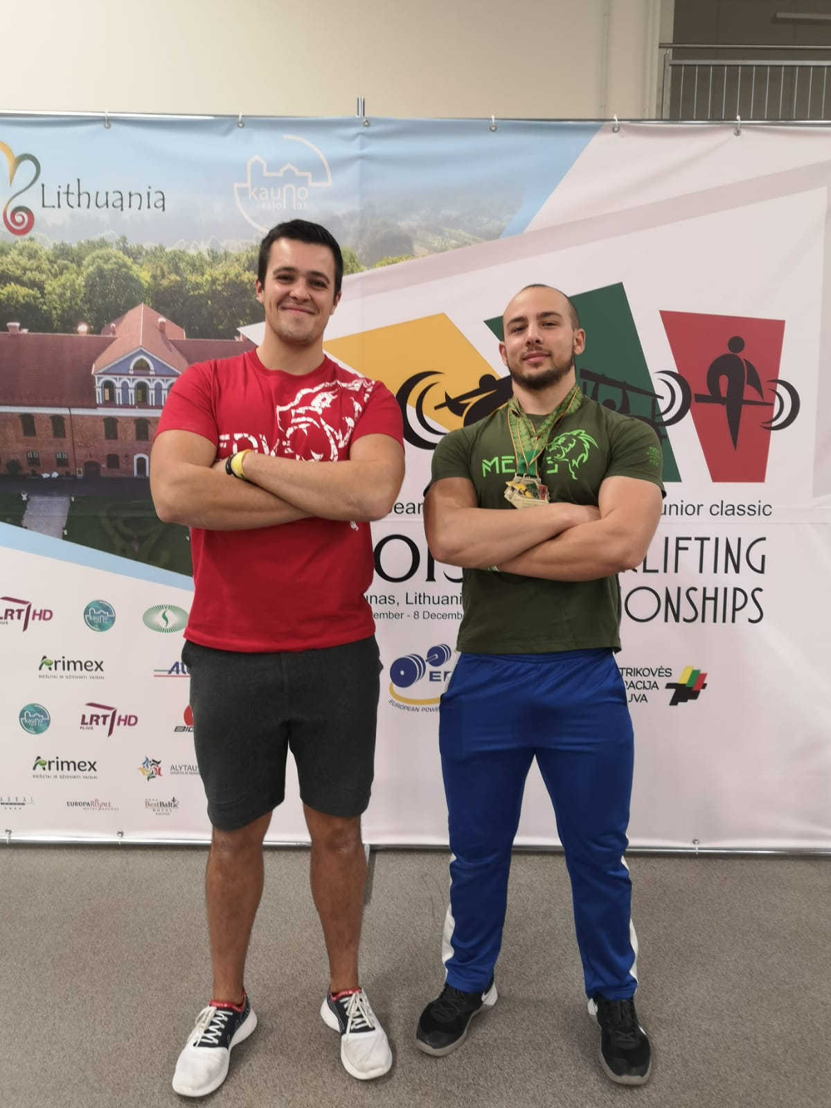 Youssuf El Adlani & Florian Roiron from Best Of The Lift @IPF European Championships