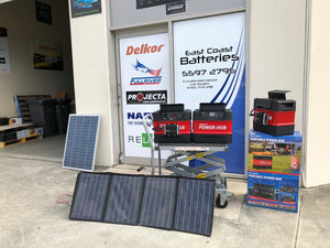 East Coast Batteries Power hub