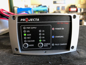 IC1500 Projecta intelli charge battery charger East Coast Batteries