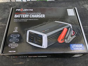 IC1500L Projecta intell-charge 15amp 12v Lithium battery charger