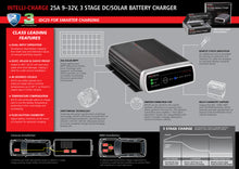 Projecta 25 amp DC to DC charger with MPPT solar regulating