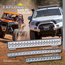 "22"" Single row Exlplora LED light bar 72274"