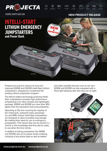 is1210e Projecta Lithium jumpstarter is1200