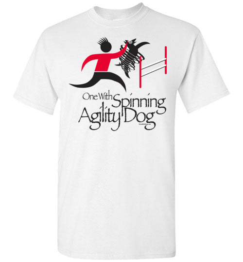 One With Spinning Agility Dog