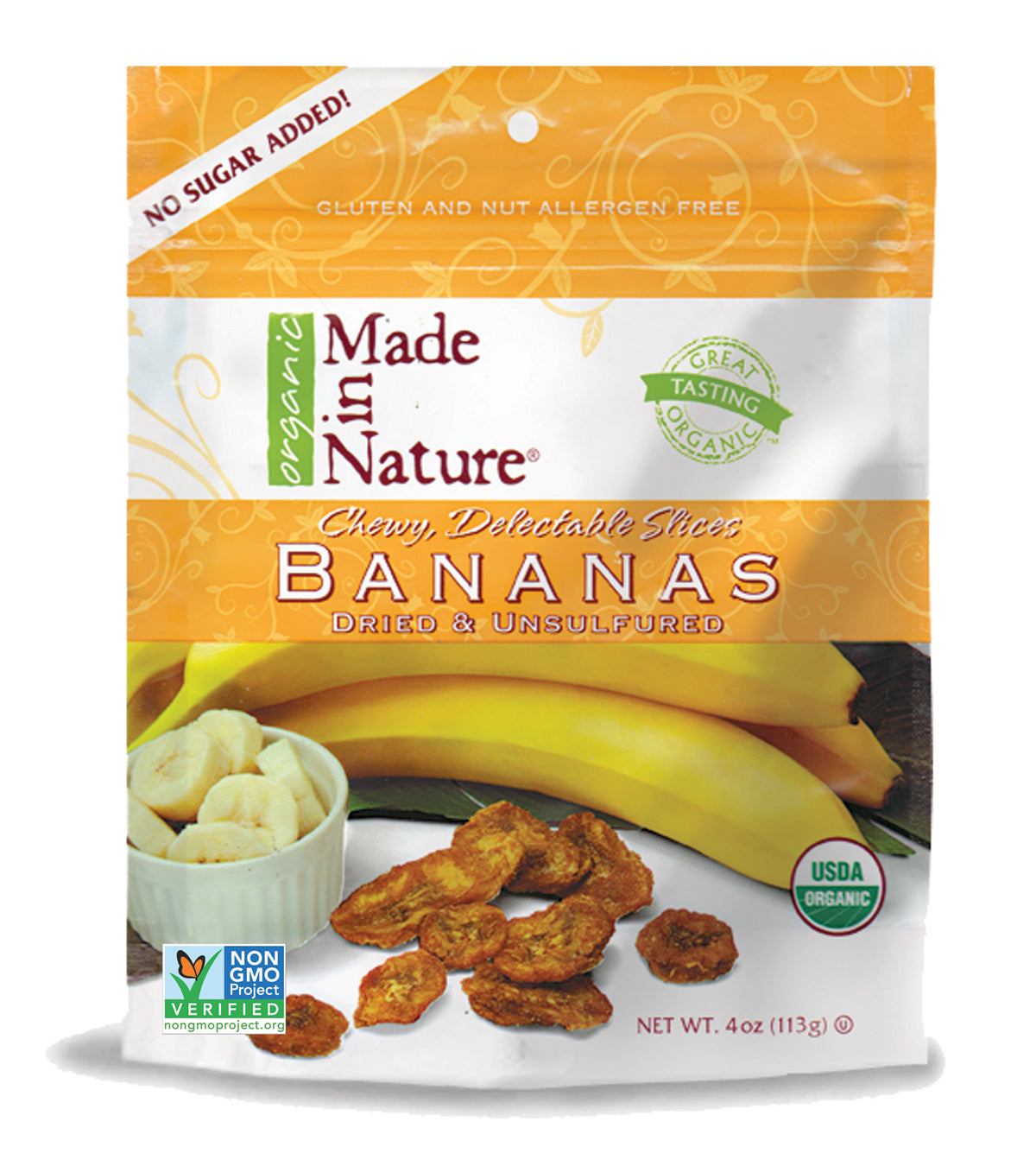 "Made In Nature Organic Sun-Ripened Bananas Takes Home ""Best in Raw Snacks"" in Delicious Living's Best Bite Awards"