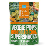 Healthy and crunchy veggie snacks