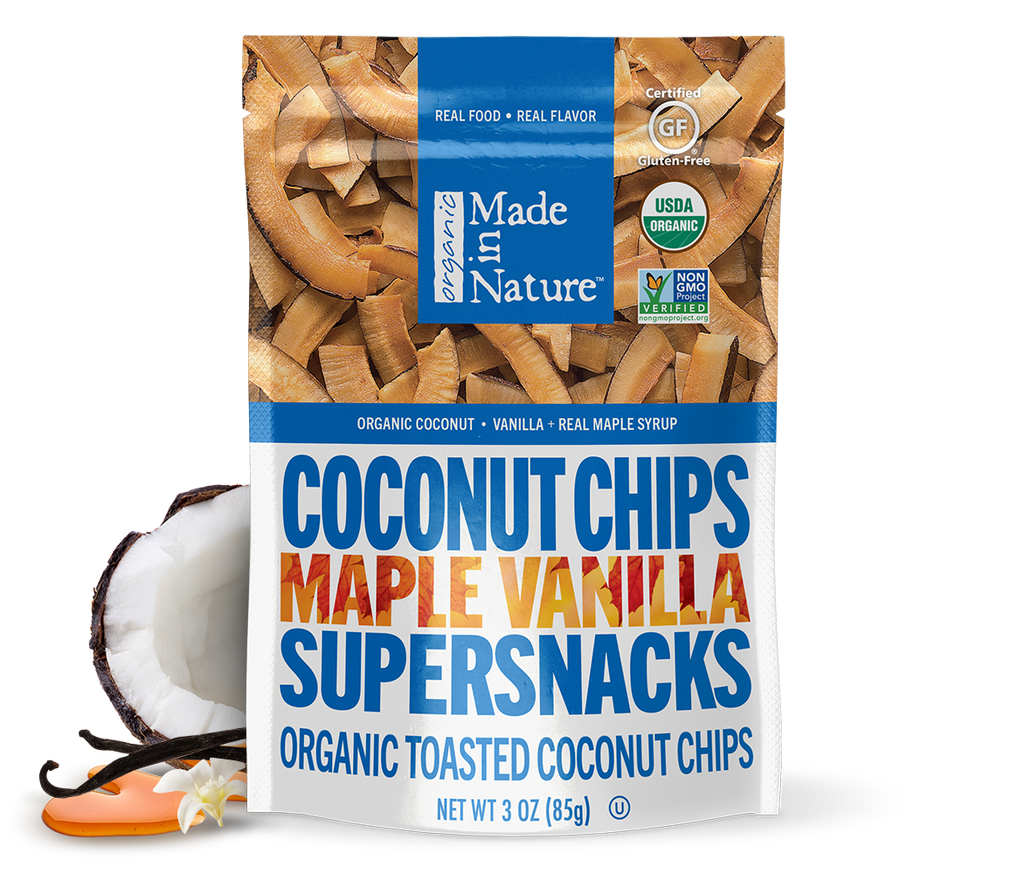 Maple Vanilla Coconut Chips