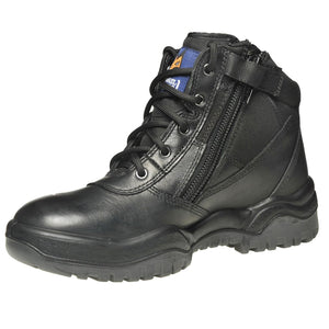 "261020 - Zip Sider 6"" Safety Boot - Black"