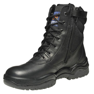 "251020 - High Leg Zip Sider 8"" Safety Boot"