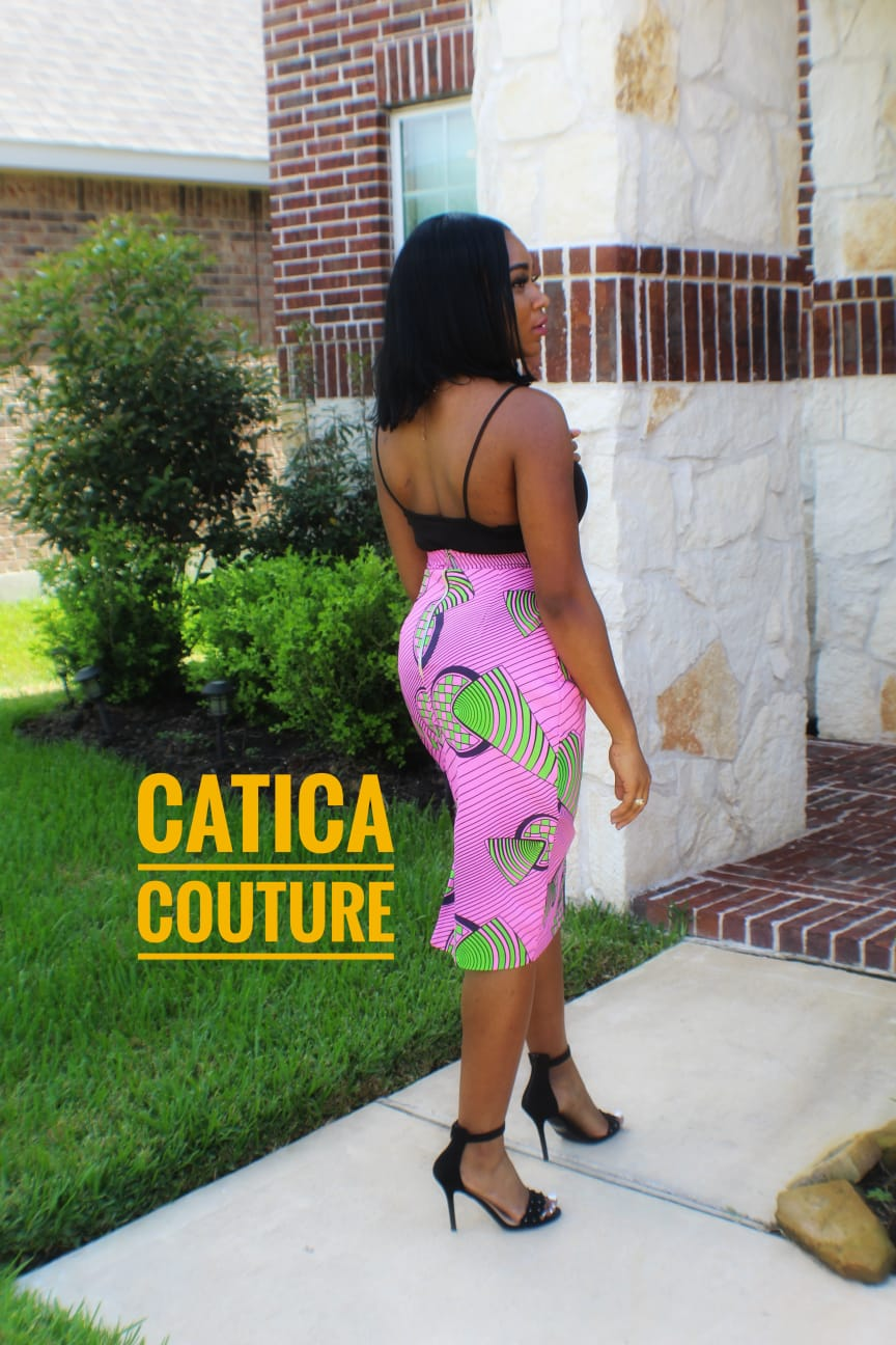 Phoenix Pencil Skirt | CATICA Couture - CATICA Couture