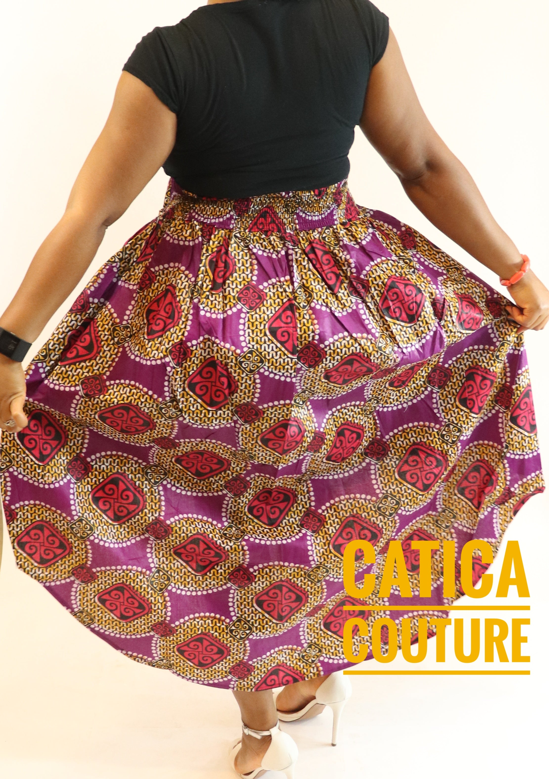 Flotus Women Skirt Multiple Colors | CATICA Couture - CATICA Couture
