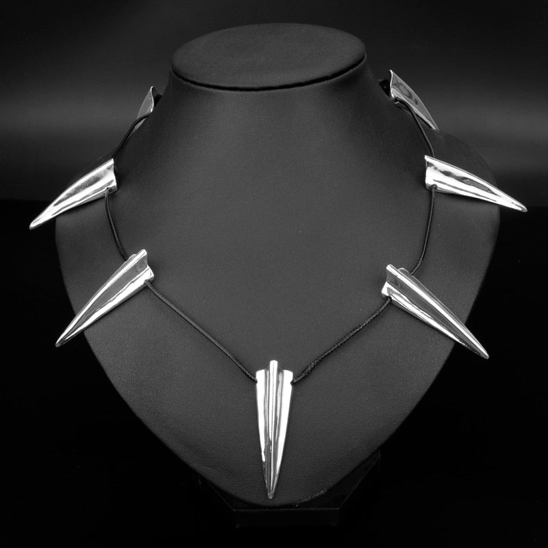 Wakanda King T'challa Necklace Etched Claw Pendant Necklace Men Jewelry | CATICA Couture - CATICA Couture