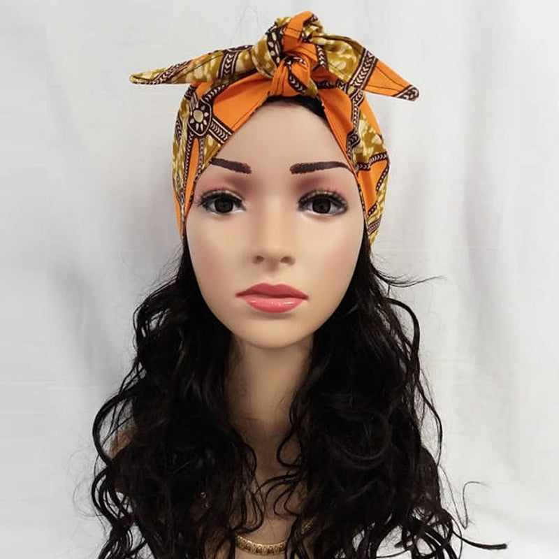 Ankara Print Hair Band/Tie | CATICA Couture - CATICA Couture