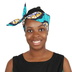 Open image in slideshow, Ankara Print Hair Band/Tie | CATICA Couture - CATICA Couture