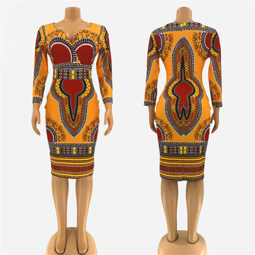 Miss Dashiki Dress | CATICA Couture - CATICA Couture